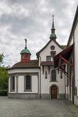 Lucerna iglesia franciscana — Foto de Stock