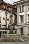Fountain in Lucerne — Foto Stock