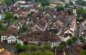 View of Lenzburg, Switzerland — Stock Photo