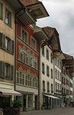 Street in Aarau, Switzerland  — Stock Photo
