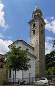 Cathedral of Saint Lawrence, Lugano — Stock Photo
