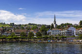 Zurich lake, Switzerland — Stock Photo