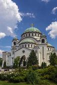 Church of Saint Sava, Belgrade — Stock Photo