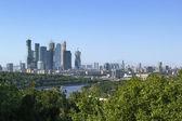 Centrum międzynarodowego biznesu w moskwie — Zdjęcie stockowe