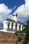 Belfry of St. Sophia Cathedral, Veliky Novgorod — Stock Photo