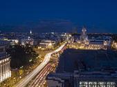 Night view of Madrid — Stock Photo