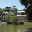 Palacio de Cristal in Madrid — Stock Photo
