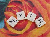 Mito de la palabra — Stockfoto