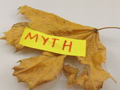 Word myth — Stock Photo