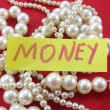 Stock Photo: Word money