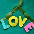 Word love - Stock Photo