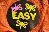 Easy — Stock Photo