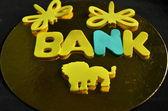 Banca di parola — Foto Stock