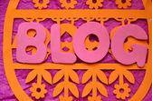 Blog — Foto Stock