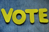 Vote — Stok fotoğraf