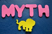Word myth — Stockfoto
