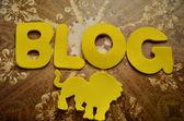 Blog — Zdjęcie stockowe