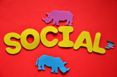 Sociales — Foto de Stock