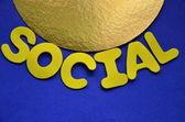 социальные — Стоковое фото