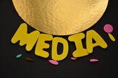Média — Stock fotografie