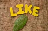 Like — Stock Photo
