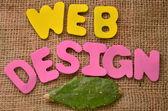 Progettazione web — Foto Stock