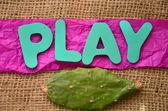 Play — Stock Photo