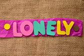 孤独 — 图库照片