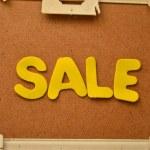 Sprzedam — Zdjęcie stockowe