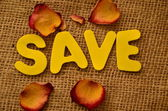 Save — Stock Photo