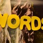 Wörter — Stockfoto #30163717