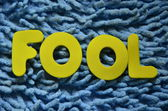 Fool — Stock fotografie