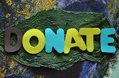 Donate — Stock Photo