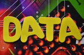 Data aplikace word — Stock fotografie
