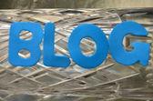 Blog — Foto de Stock