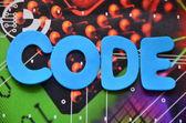 Code — Stock fotografie