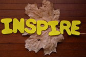 Inspirieren — Stockfoto
