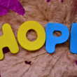 Hope — Stock fotografie #33800791