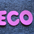 word eco — Stock Photo #34082245
