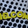 Welcome — Stock Photo #34083225