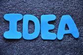 Idea — Fotografia Stock
