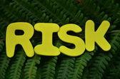 Риск — Стоковое фото