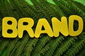 Brand — Stock Photo