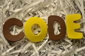 код — Стоковое фото