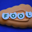 Stock Photo: Fool