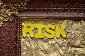 Risiko — Stockfoto