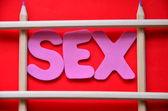 Word sex — Stok fotoğraf