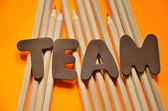 Word team — Stock Photo