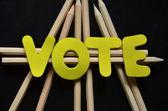 голосование — Стоковое фото