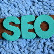Word seo — Foto de Stock